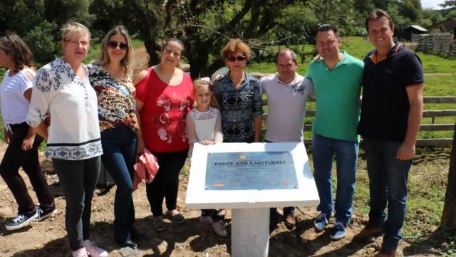 Nova ponte em Rio dos Bugres é entregue à comunidade
