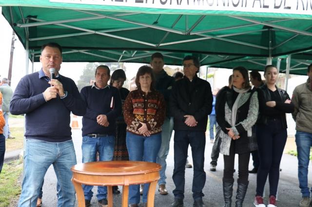 Prefeitura de Rio Negrinho dá início à recuperação da rua Luiz Scholz Filho