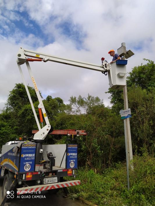 Prefeitura de Rio Negrinho faz manutenção de estações hidrológicas
