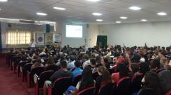 Palestras orientam estudantes sobre a importância da Defesa Civil
